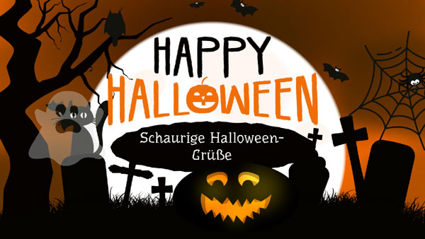 Halloween-Grüße im Video anschauen
