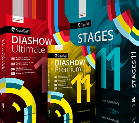 DiaShow und Stages 11 Neuerungen