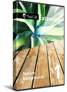 Nature backgrounds 1 - Extension package for SlideShow and Stages