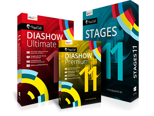 AquaSoft DiaShow und Stages 11