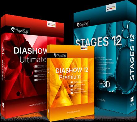 DiaShow und Stages 12 Neuerungen