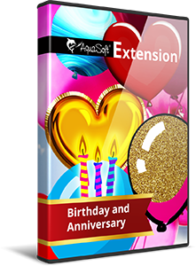 Birthday and Anniversary - Extension package for SlideShow and Stages version 12 and higher