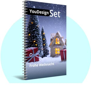 "YouDesign Set ""Frohe Weihnacht"""