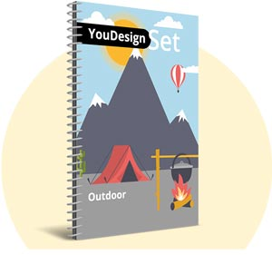 "YouDesign Set ""Outdoor"""