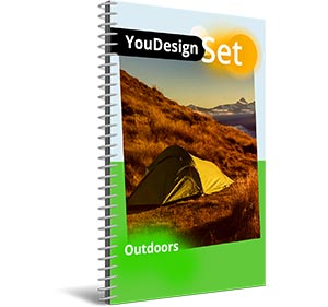 "YouDesign Set ""Outdoors"""