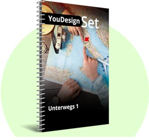 "YouDesign Set ""Unterwegs"""