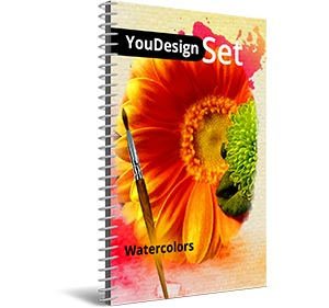 "YouDesign Set ""Watercolors"""