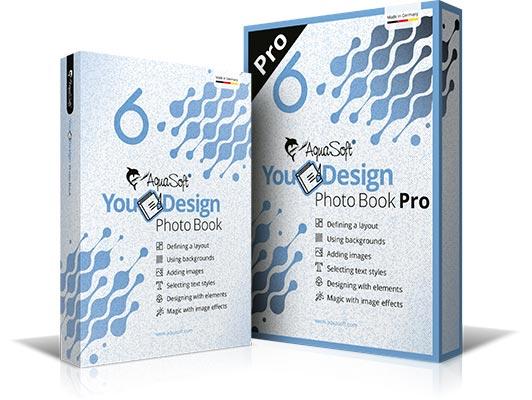 AquaSoft YouDesign Photo Book and Photo Book Pro